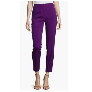 Like New! ESCADA Iris/Purple Tapered Crop Pants